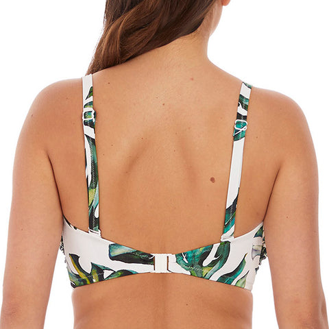 Fantasie Palm Valley Bandeau Bikini Top FS6762 Fern