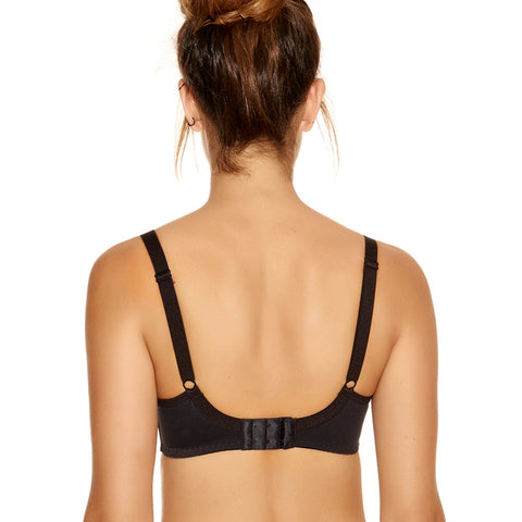 Fantasie Smoothing T-Shirt Bra FL4510 Black