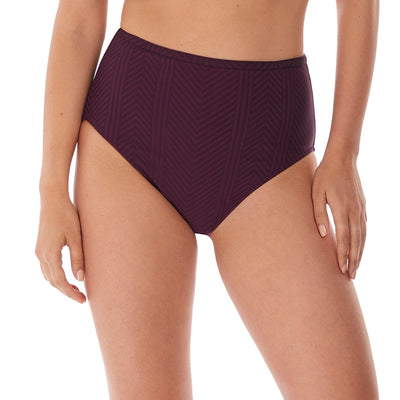 Fantasie Long Island High Waist Bikini Brief FS6907 Vino