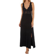 Fleur't Holiday Lace Long Gown 6019 Black