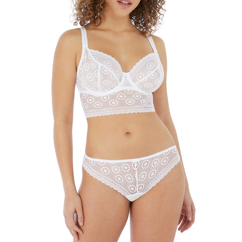 Freya Love Note Underwire Bralette AA5214 White