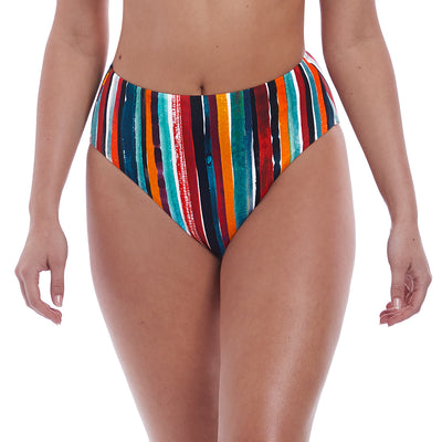 Freya Swim Bali Bay High Waist Bikini Bottom As6787 Multi