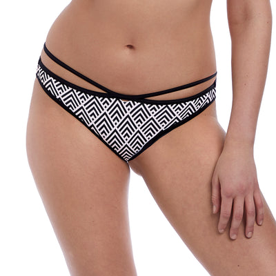 Freya Gatsby Monochrome Italini Brief As5865 Black