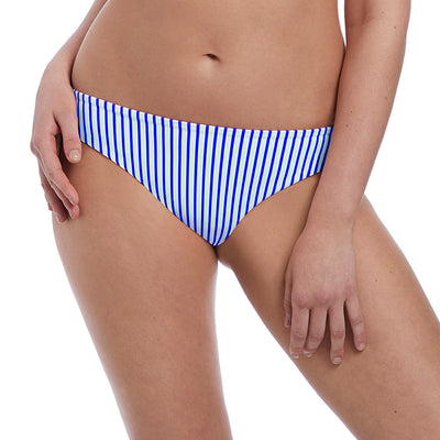 Freya Swim Totally Stripe Bikini Brief AS6553 Cobalt Bikini