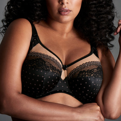 Goddess Bridgette Underwire Bra GD6070 Black