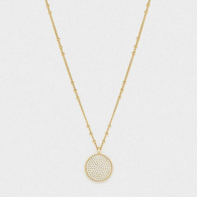 Gorjana Pristine Coin Necklace