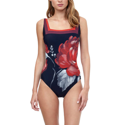 Gottex Roses Are Red One Piece 21RO172U Roses