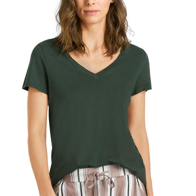 HANRO 07-7876 Green Shirt
