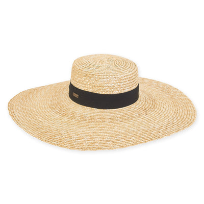 Sun 'N' Sand Wheat Straw Sun Hat HH2504 Tan