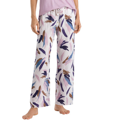 Hanro Sleep and Lounge Woven Long Pant 77617 Abstract