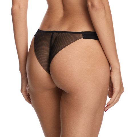 I.D Sarrieri Questa Sera Thong L7743 Black