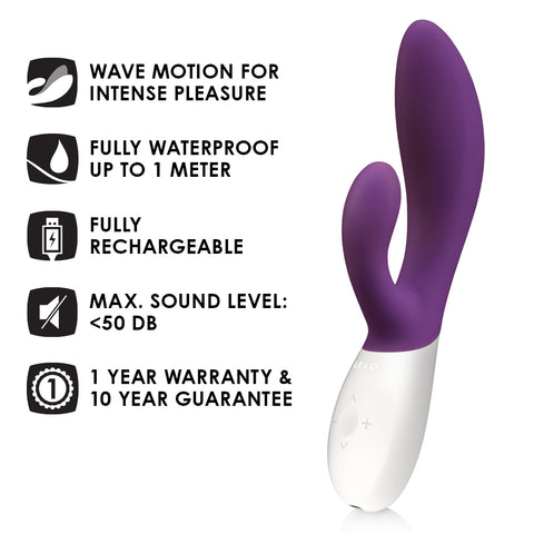 Lelo INA Wave 1237 Plum