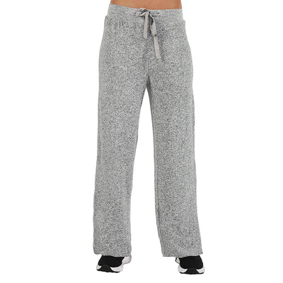 La Cera The Comfort Collection Wide Leg Pants 7573 Heather Grey