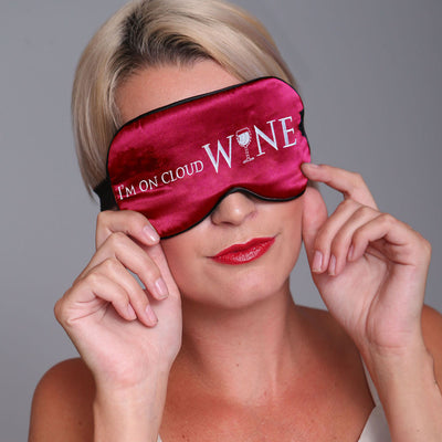 Linda Hartman Sleep Mask 761271 Cloud Wine