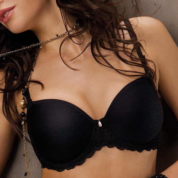 Lise Charmel Antinea Essentials Fit Spacer Bra Dc2699 Black