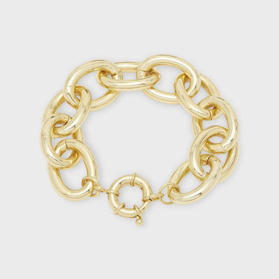 Gorjana Jewelry Lou Statement Bracelet Gold