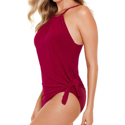 Magicsuit Golden Opportunity Parker Swim Dress 6006012 Vamp