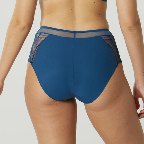 Maison Lejaby High-Waisted Briefs 201364 Ocean