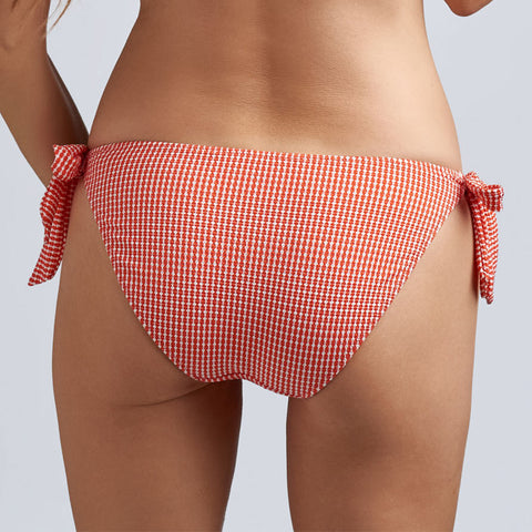 Marlies Dekkers Swim Côte D'Azur Side Tie Bikini Bottoms 19-993 Red