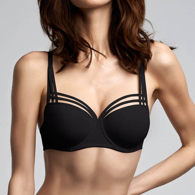 Marlies Dekkers Lady de Paris Balconete Bra 15-4201 Black