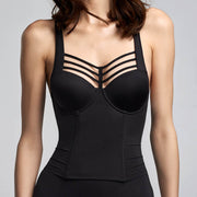 Marlies Dekkers Leading Strings Corset 16-803 Black