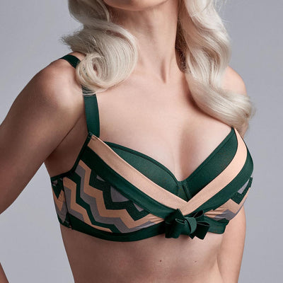 Marlies Dekkers Courage Plunge Balcony Bra 19-5701 Multi