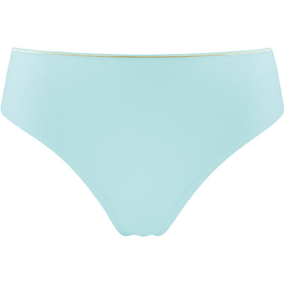 Marlies Dekkers Dame de Paris 7 cm Thong 19-262 Tiffany Blue