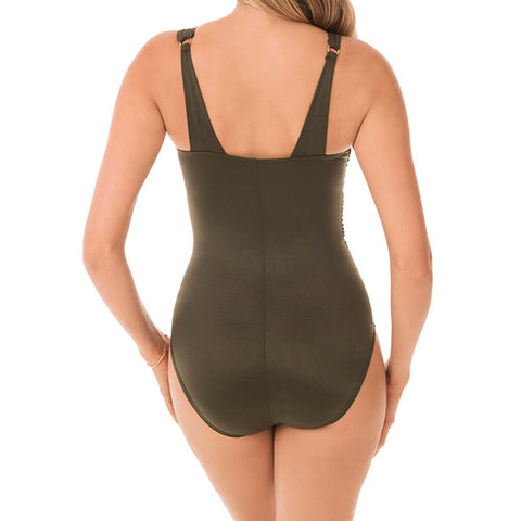 Miraclesuit Illusionists Azura One Piece Swimsuit 6516624 Olive