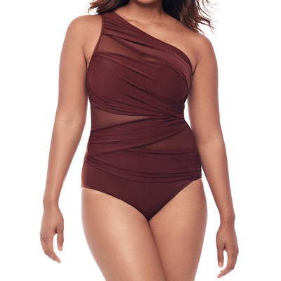 Miraclesuit Network Jena One Piece Swimsuit 6516615 Tamarind