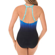 Miraclesuit Belle Trois Sunrise One Piece Swimsuit 6522649 Blue