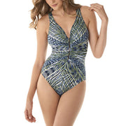 Miraclesuit Monteverde Charmer One Piece Swimsuit 6523369 Palm