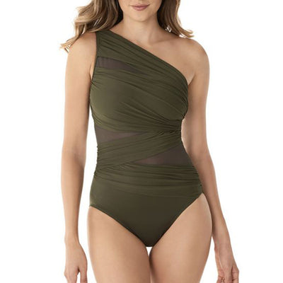 Miraclesuit Network Jena One Piece Swimsuit 6516615 Olive