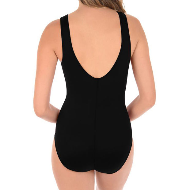 Miraclesuit DD-Cup Solid Palma Swimsuit 6518685DD Black