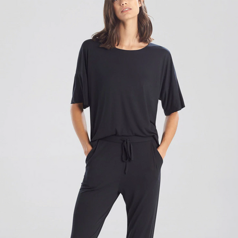 Natori Sleep Tao Boxy T Shirt M75372 Black