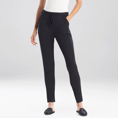 Natori Sleep Tao Slim Pants M77072 Black