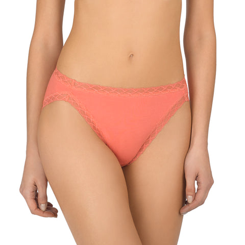 Natori Bliss French Cut Panty 152058 Guava Hi-Cut