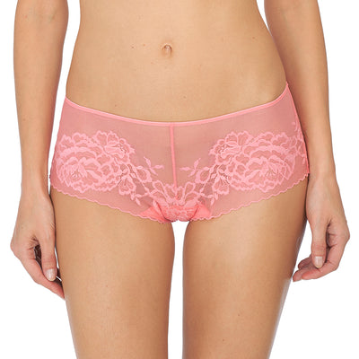 Natori Flora Brief  776150 Coral Rose