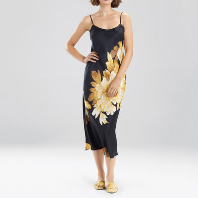 Natori Opulent Gown H73015 Black/Gold