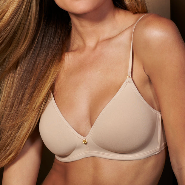 Natori Understated No Wire Bra 137025 Cafe