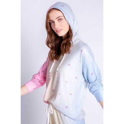 PJ Salvage Peachy Party Hoodie RXPPHD Tie Dye