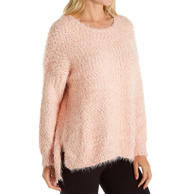 PJ Salvage Sweater Knit Top RUKKLS Blush Pink