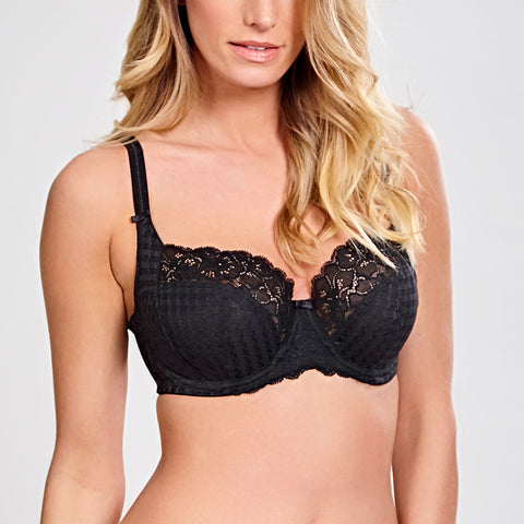 Panache Envy Underwrie Bra 7285 Black