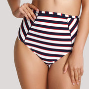 Panache Swim Lucille High Waist Swim Bottom SW1375 Navy