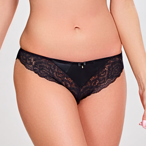 Panache Quinn Brazilian Brief 9242 Black