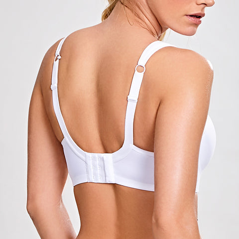 Panache Underwire Sports Bra 5021 White