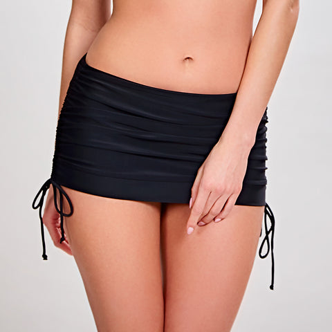 Panache Swim Anya Skirted Swim Bottom Sw0888 Black