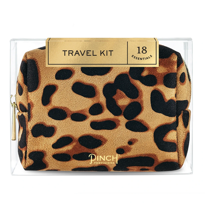 Pinch Provisions Leopard Travel Kit
