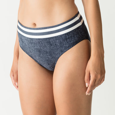 Prima Donna California Full Swim Brief 400-4951 Blue