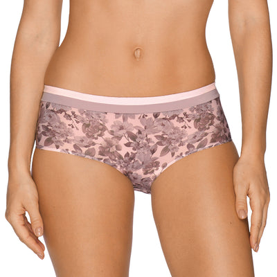 Prima Donna Twist Flower Shadow Short Panty 054-1553 Gardenia
