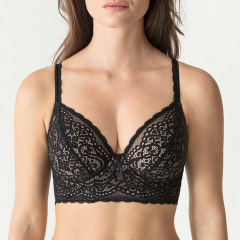Prima Donna I Do Longline Bra D Cups 014-1606 Black
